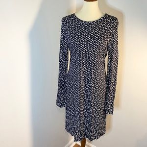 Tory Burch Patterned Geometrical Dress